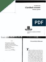 Octavio Paz - Mixcoac