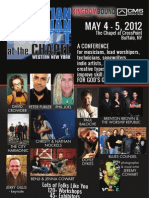 CMS@TheChapel 2012 - Event Program