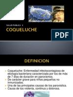 Coqueluche Salud Publica
