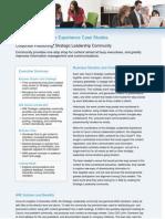 Inside Cisco IT Strategic Leadership Community Case Study