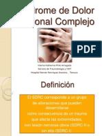 3. Síndrome de dolor regional complejo