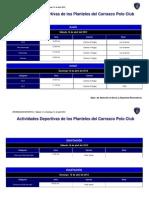 Actividad Deportiva - CPC_sab 14 y Dom 15 Abril.