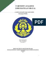 Sigit Hariyanto_25_tugas Keuangan Publik_cost-benefit Analysis
