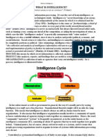 What is Intelligence? Breakdown of US Intelligence Agencies