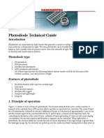 HAMMAMATSU Photodiode Technical Guide