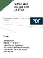 Administration Des Ordinateurs via Une Application Web
