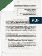 Estructura del Informe de Pasantías