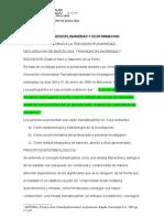1. Transdisciplinariedad Ecoformación y Lectoescritura