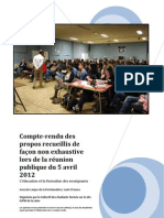 Compte Rendu Debat 04-05-2012