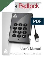 Aegis Padlock Manual
