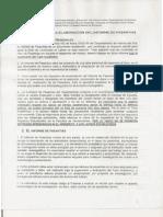 Instructivo para la elaboración del Informe de Pasantías
