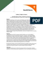 WVI Child Rights Malawi