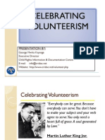 Volunteering Presentation