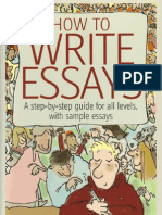 How to Write Essays a Step by Step Guide for All Levels With Sample Essays