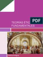 Teorías éticas resumen