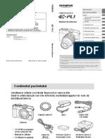 Manual de Utilizare Olympus E-PL1