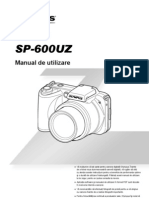 Manual de Utilizare Olympus SP-600UZ