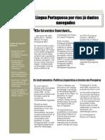 A Língua Portuguesa por Rios já Dantes Navegados (Licenciatura São Gabriel)