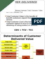 Customer Deliver Value