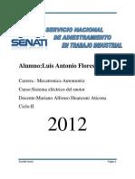 Luis Antonio Flores Torres Diagnostico de Bateria