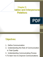 Communication and Interpersonal Relations