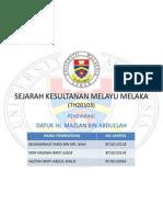 Sejarah Kesultanan Melayu Melaka