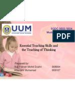 Beyond Effective Teaching