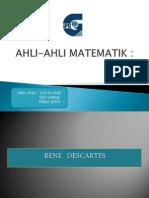 AHLI-AHLI MATEMATIK
