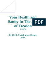 Your Health and Sanity in the Age of Treason Book