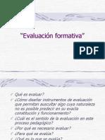 presentación Evaluación formativa