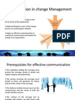 Communication in Change Management