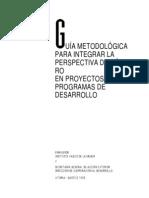 Guia Metodologica Integracion Genero