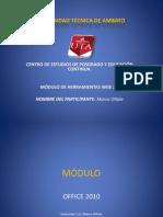 Formato de Texto en word2010