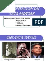 Presentation on Tata Motors - Copy