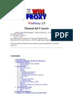 Manual WinProxy 1