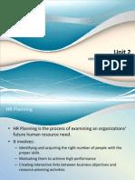 UNIT 2 project planning & evaluation