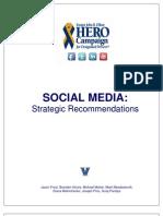 HERO Campaign Social Media Strategic Recommendations