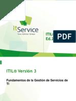 Presentación ITIL V3 Edicion 2011