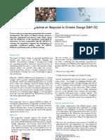 GAP-CC - ASEAN-German Programme on Response to Climate Change