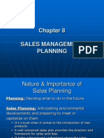 Sales Management Planning