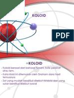 KOLOID power point
