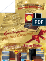 Bible Society Christmas 2008 Catalogue