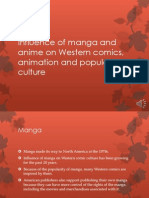 Influence of Manga and Anime on Western Comics