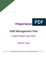 Staff Management Plan (OSIAdmin 3456)