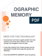 Ppt on Holographic Memory