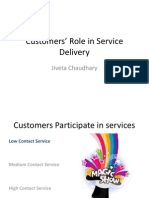 Lecture 10 Customers' Role