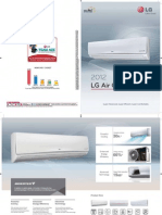 LG Air Conditioners 2012 Catalogue