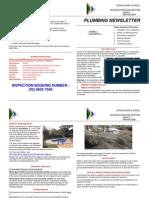 Newsletter Plumbing 2006 Winter