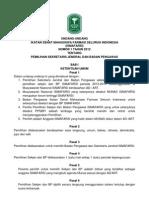 UU Pemilihan Sekjen Dan BP 2012