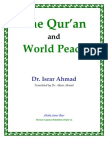 Quran & World Peace